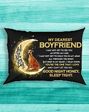 Whippet Boyfriend Sleep Tight  Rectangular Pillowcase aos-pillow-rectangle-front-lifestyle-5