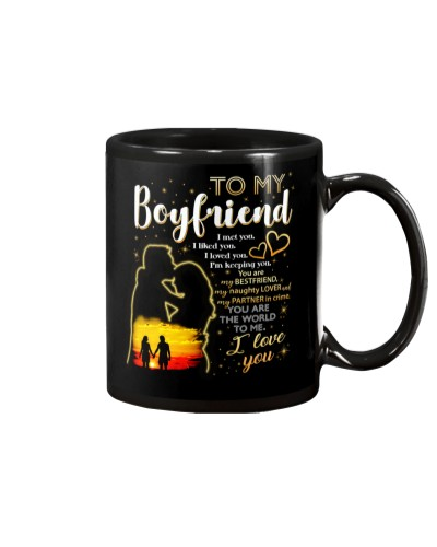 Boyfriend I Like You I love You Mug CC