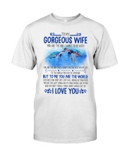 Turtle Wife To Me You Are The World Classic T-Shirt thumbnail