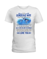 Turtle Wife To Me You Are The World Ladies T-Shirt thumbnail