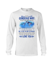 Turtle Wife To Me You Are The World Long Sleeve Tee thumbnail