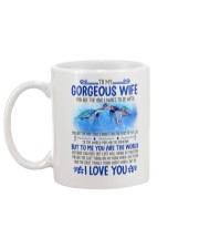 Turtle Wife To Me You Are The World Mug back