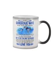 Turtle Wife To Me You Are The World Color Changing Mug thumbnail