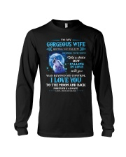 I Love You To The Moon Wolf Long Sleeve Tee thumbnail