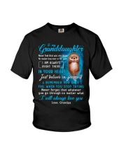 Otter Near Or Far Apart Granddaughter  Youth T-Shirt thumbnail