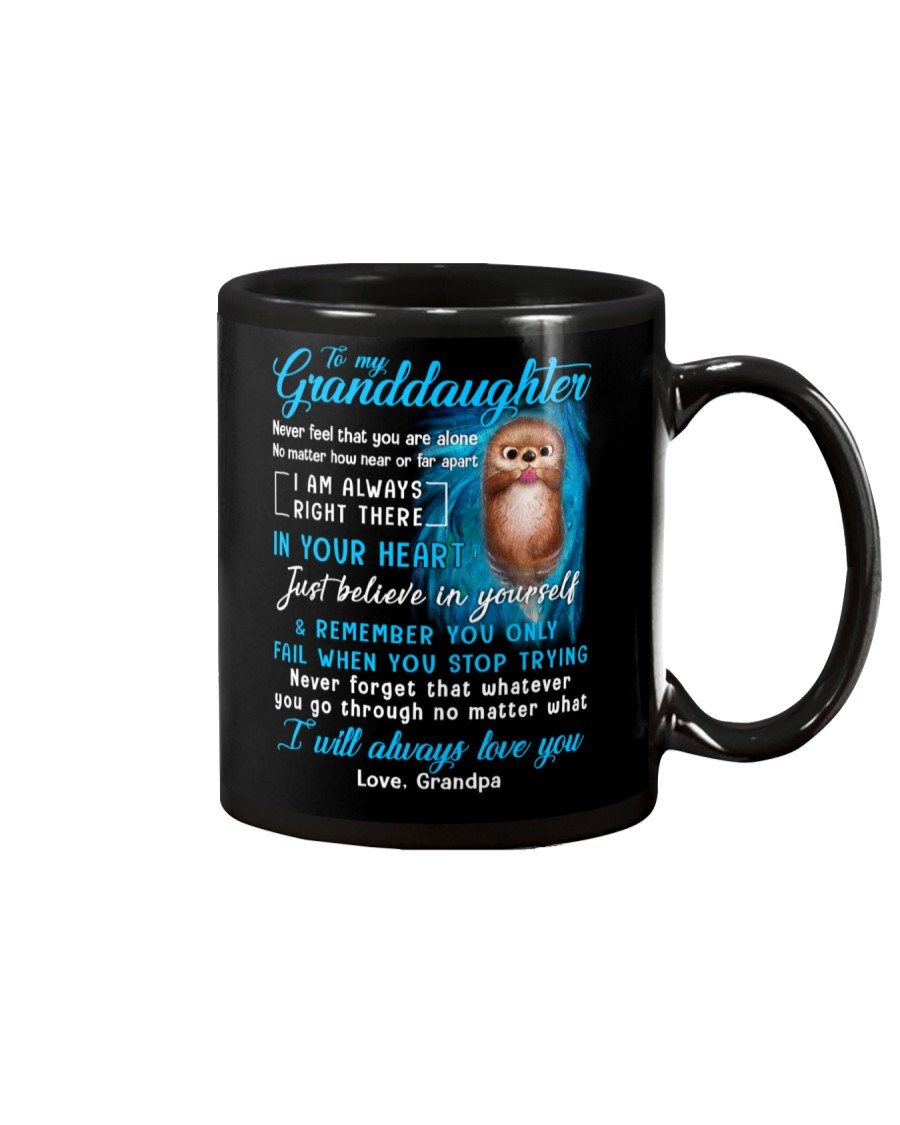 Otter Near Or Far Apart Granddaughter  Mug