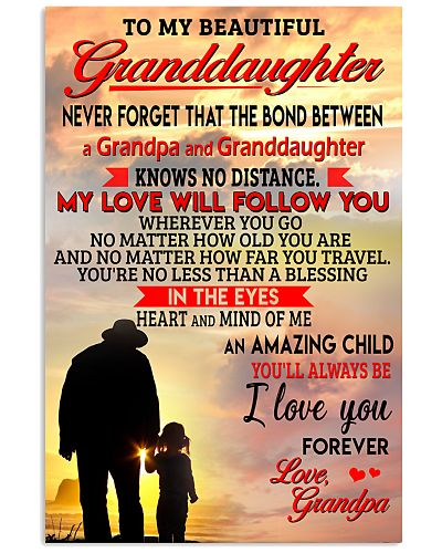 The Bond Between A Grandpa And Granddaughter