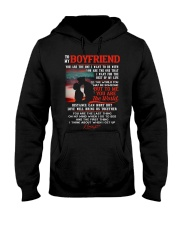 Marine Boyfriend To Me You Are The World Hooded Sweatshirt thumbnail
