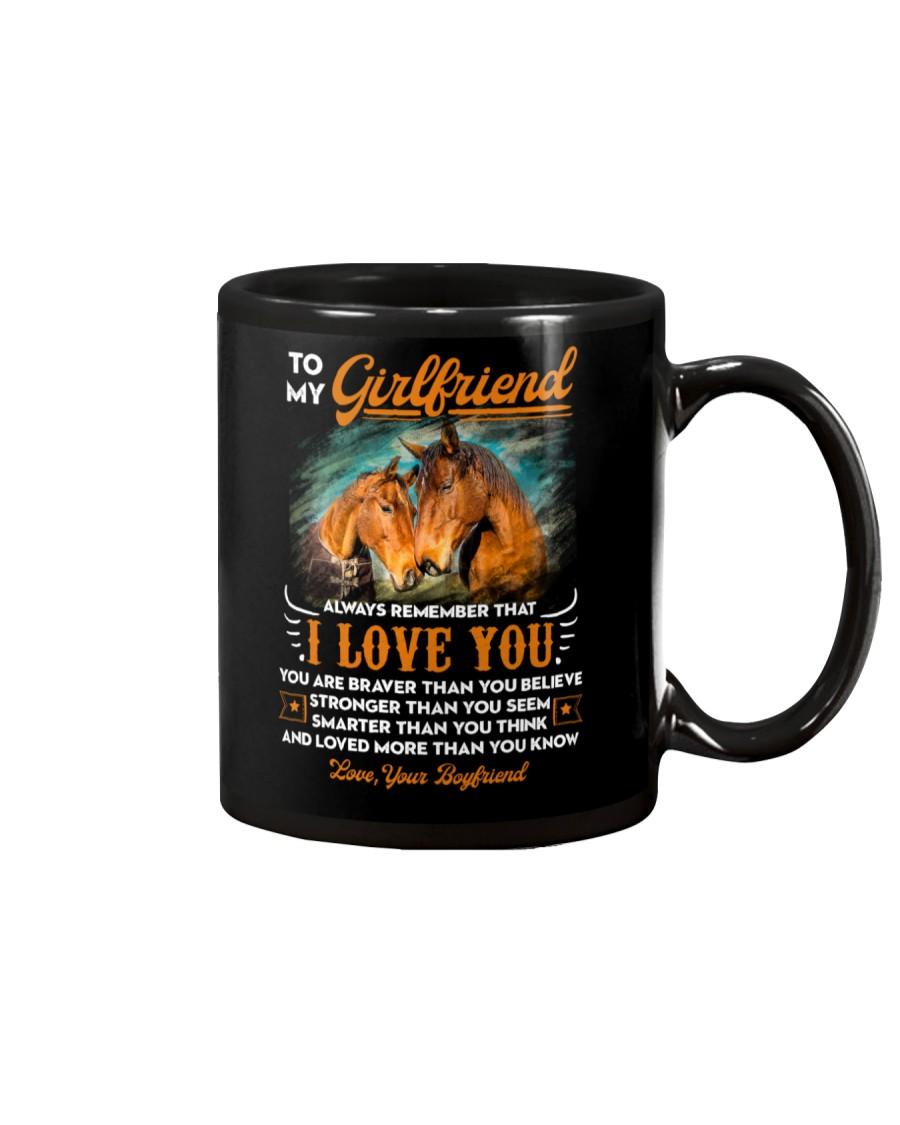Horse Girlfriend I Love You Mug