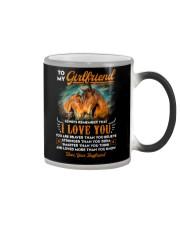 Horse Girlfriend I Love You Color Changing Mug thumbnail