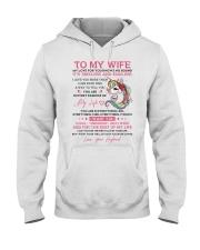Unicorn Wife Timeless And Endless Hooded Sweatshirt thumbnail
