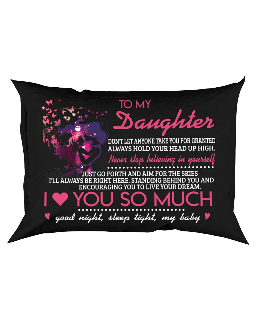 Don't Let Anyone Take You For Granted Butterfly Rectangular Pillowcase