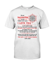 Viking Daughter Mom I'm Always With You Classic T-Shirt thumbnail