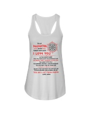 Viking Daughter Mom I'm Always With You Ladies Flowy Tank thumbnail