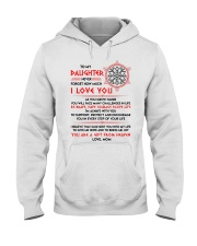 Viking Daughter Mom I'm Always With You Hooded Sweatshirt thumbnail
