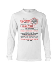 Viking Daughter Mom I'm Always With You Long Sleeve Tee thumbnail