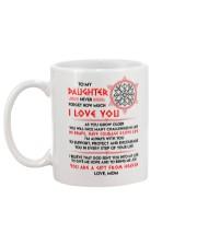 Viking Daughter Mom I'm Always With You Mug back