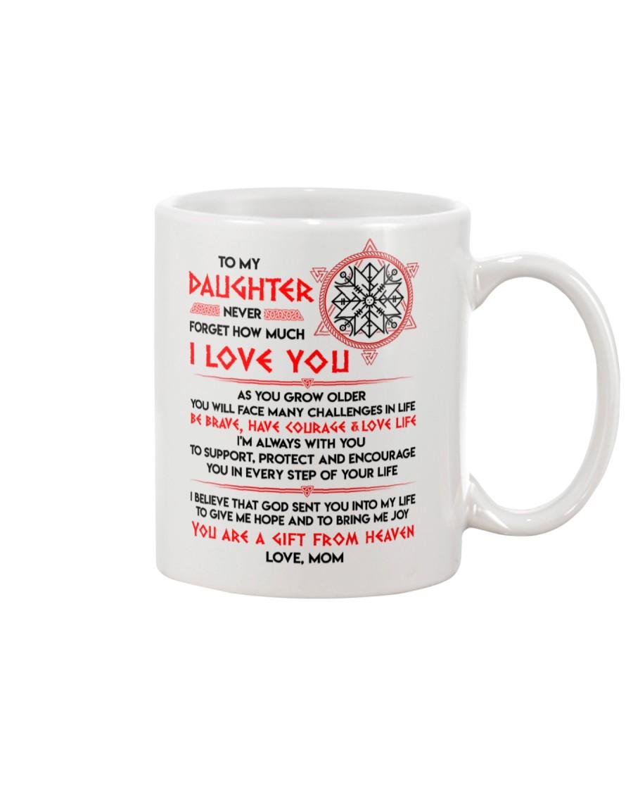 Viking Daughter Mom I'm Always With You Mug