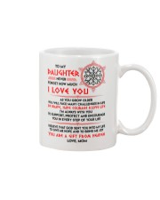 Viking Daughter Mom I'm Always With You Mug front