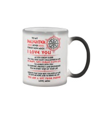 Viking Daughter Mom I'm Always With You Color Changing Mug thumbnail