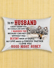 Wolf Marry You Sweetheart Husband Rectangular Pillowcase aos-pillow-rectangle-front-lifestyle-6