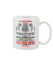 Enjoy The Ride Back Home Wolf Mug front