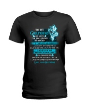 My Love For You Knows No Bound Wolf Ladies T-Shirt thumbnail