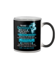 My Love For You Knows No Bound Wolf Color Changing Mug thumbnail