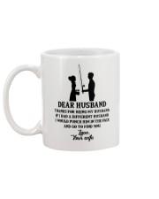 FISHING DEAR WIFE Mug back