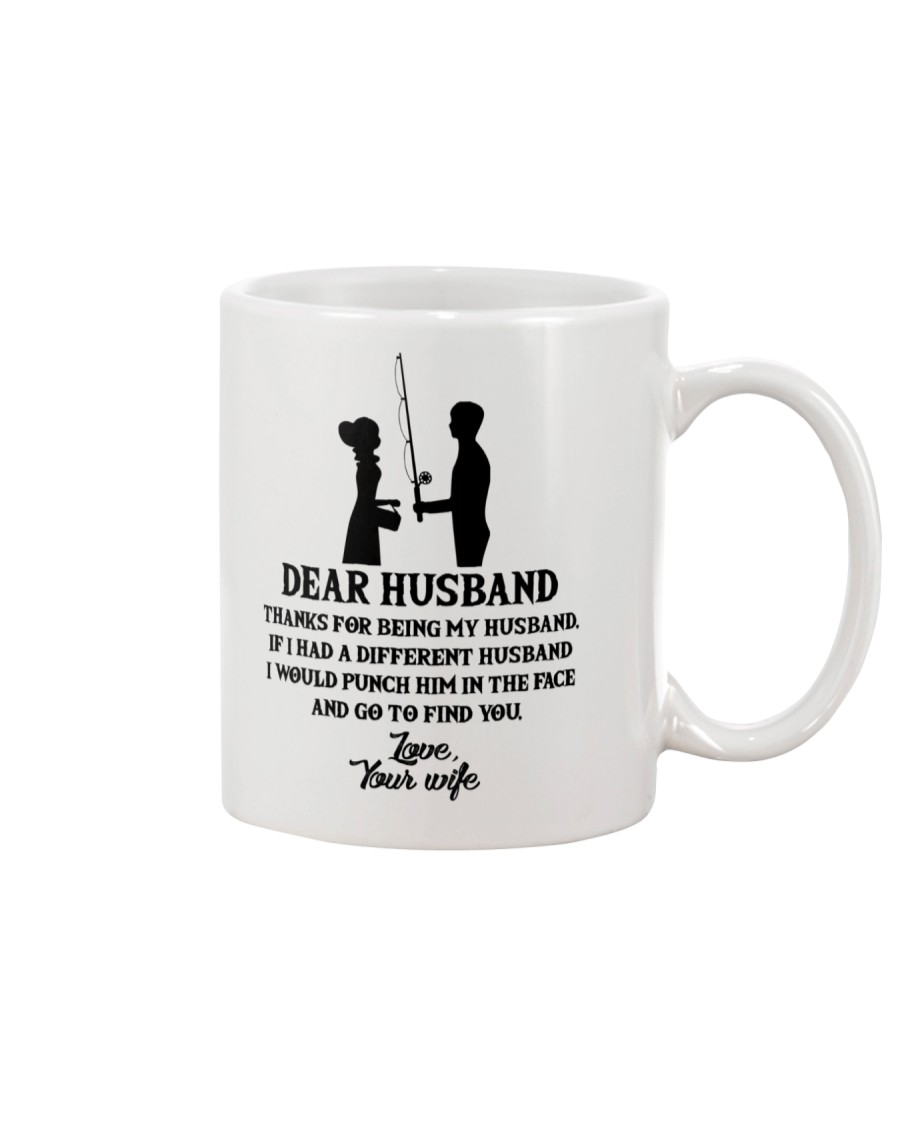 FISHING DEAR WIFE Mug