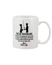 FISHING DEAR WIFE Mug front
