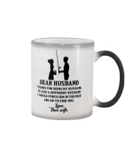 FISHING DEAR WIFE Color Changing Mug thumbnail