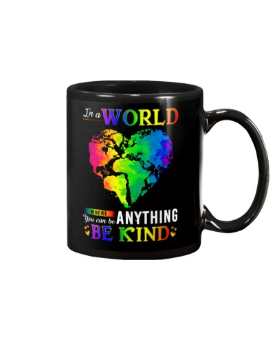 LGBT BE KIND MUG GG