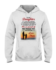 Love You Forever Like You For Always Family  Hooded Sweatshirt thumbnail