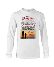 Love You Forever Like You For Always Family  Long Sleeve Tee thumbnail