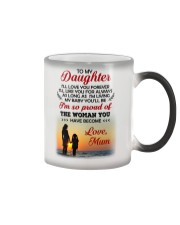 Love You Forever Like You For Always Family  Color Changing Mug thumbnail
