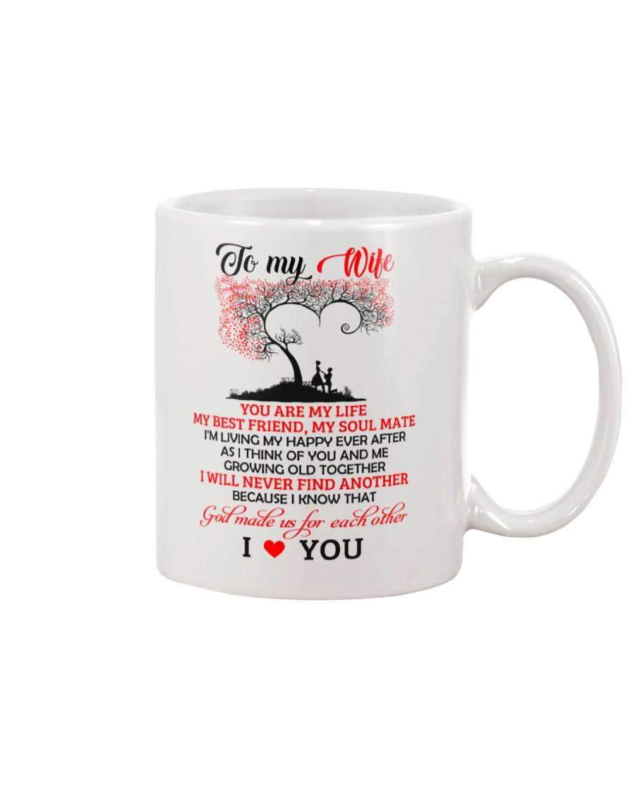 My Wife Growing Old Family Mug