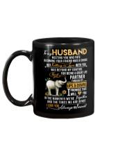 Elephant Husband Ups And Downs Love Mug back