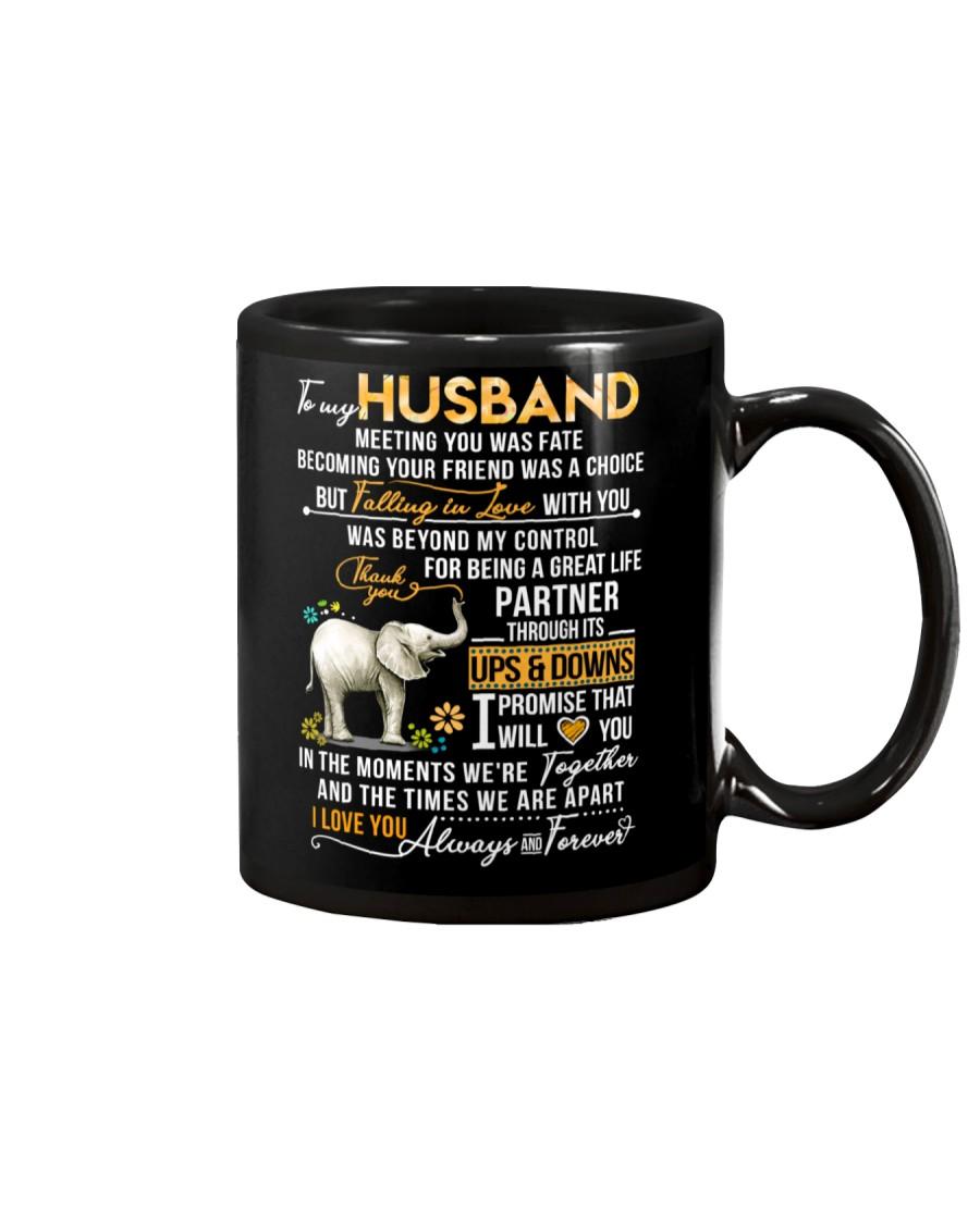 Elephant Husband Ups And Downs Love Mug