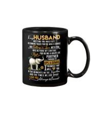 Elephant Husband Ups And Downs Love Mug front