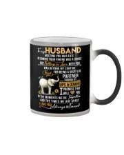 Elephant Husband Ups And Downs Love Color Changing Mug thumbnail