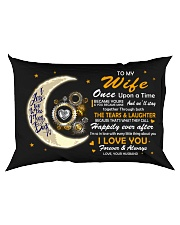 I Became Yours And You Became Mine Mechanic  Rectangular Pillowcase back