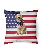 """Protecting yourself and your family now Indoor Pillow - 16"""" x 16"""" thumbnail"""