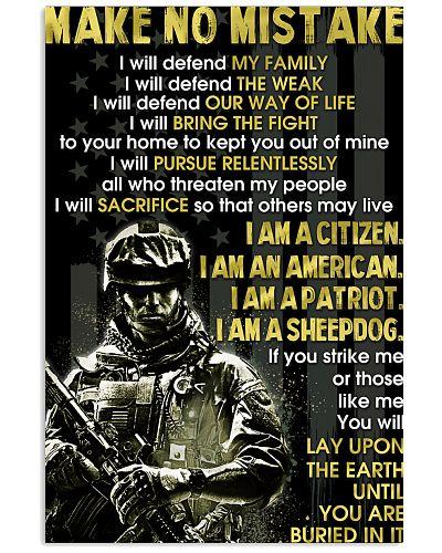I Will Defend My Family Veteran