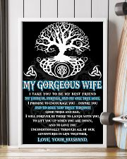 Faithful Partner True Love Wife Viking 11x17 Poster lifestyle-poster-4