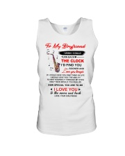 Instruments Saxo Boyfriend Clock Ability Moon Unisex Tank thumbnail