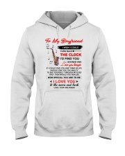 Instruments Saxo Boyfriend Clock Ability Moon Hooded Sweatshirt thumbnail