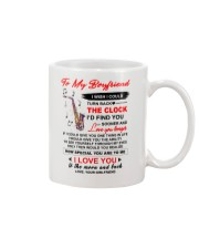 Instruments Saxo Boyfriend Clock Ability Moon Mug front