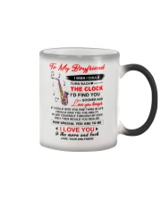 Instruments Saxo Boyfriend Clock Ability Moon Color Changing Mug thumbnail