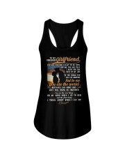 Marine Girlfriend To Me You Are The World Ladies Flowy Tank thumbnail
